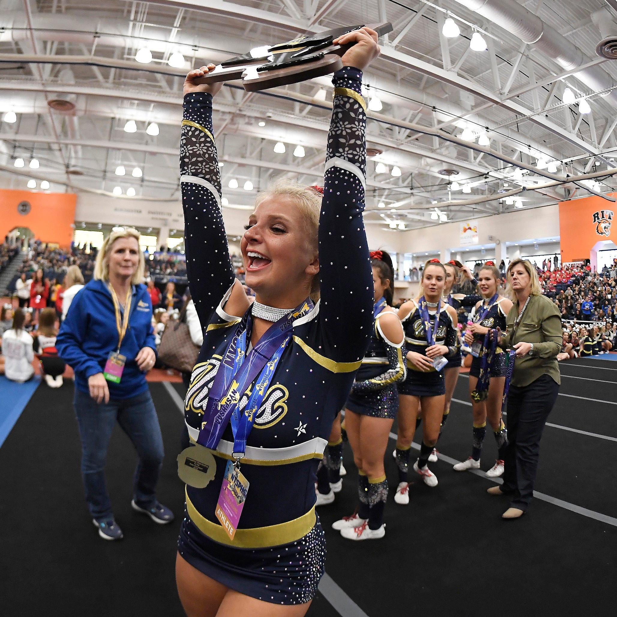 State cheerleading: Webster Thomas wins Co-Ed Division