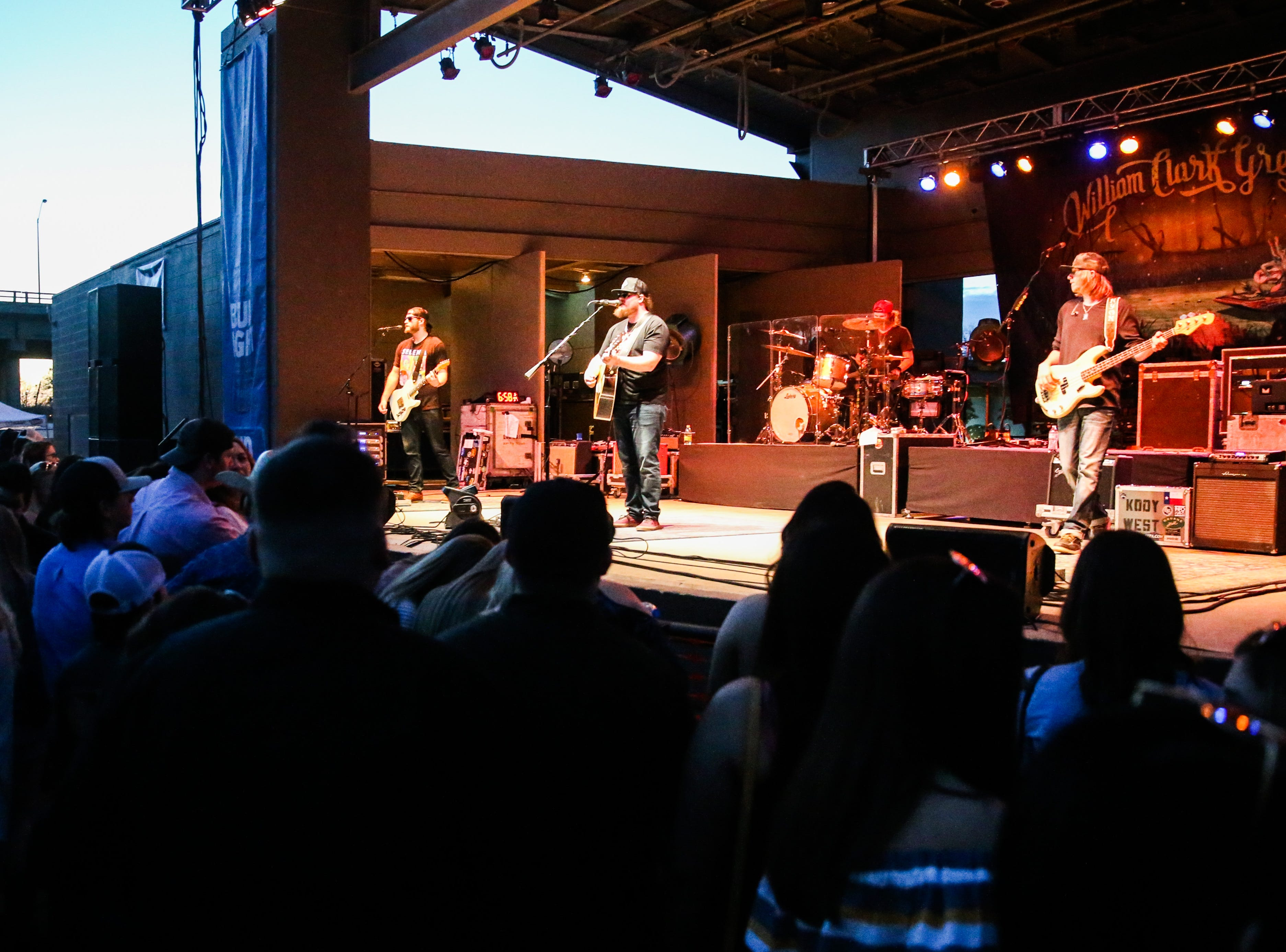 Kody West performs during Wild West Fest Friday, March 1, 2019, at the Bill Aylor Sr. Memorial RiverStage.