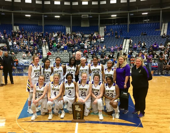 The Benton girls basketball team faced Warren Easton in the Class 4A state championship game Friday in Alexandria.