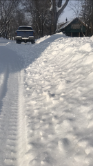 Dell Rapids street crews are forced to plow around cars that don't move during snow alerts.