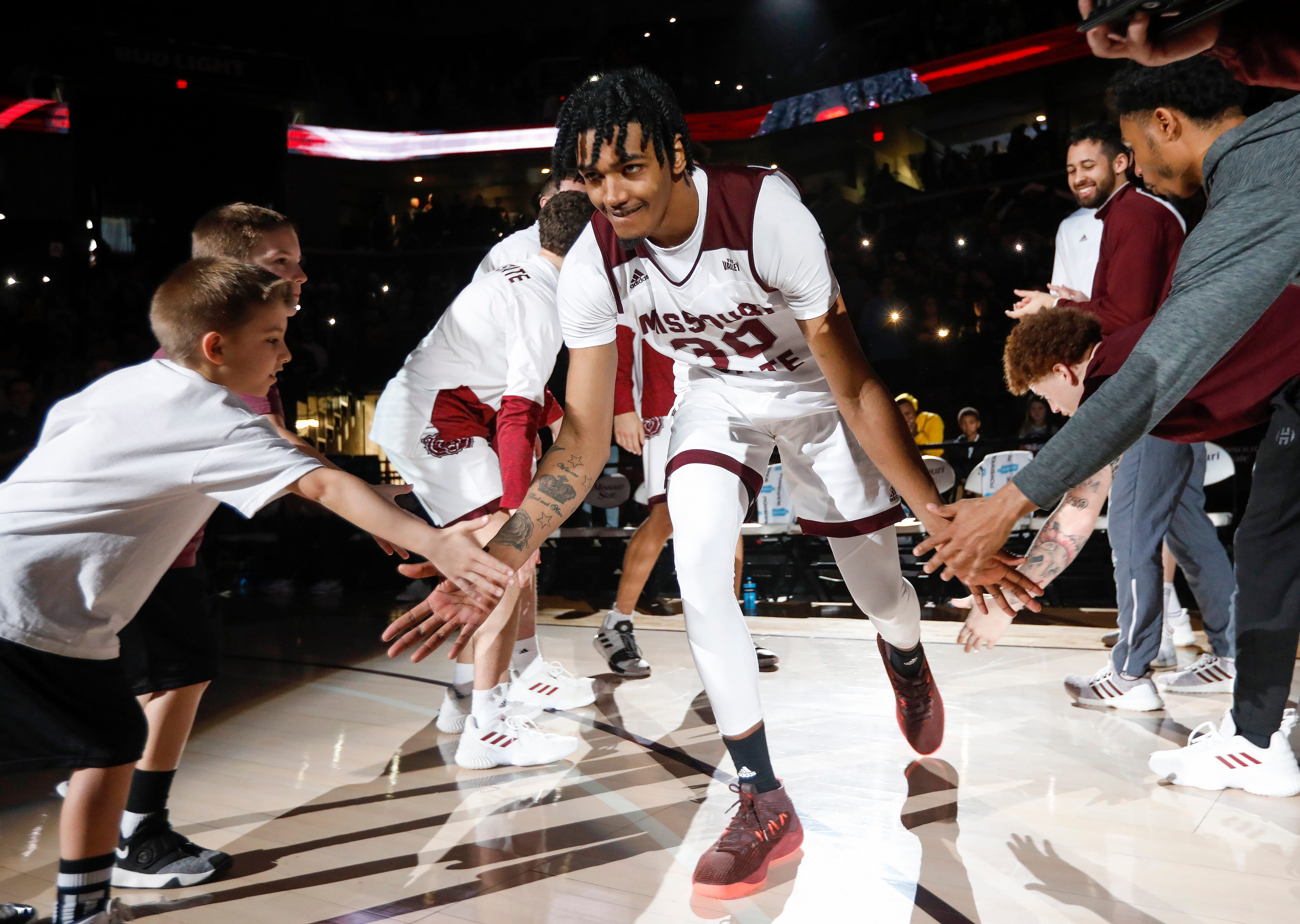 Missouri State fell to Drake 73-62 at JQH Arena on Saturday, Mar. 2, 2019.
