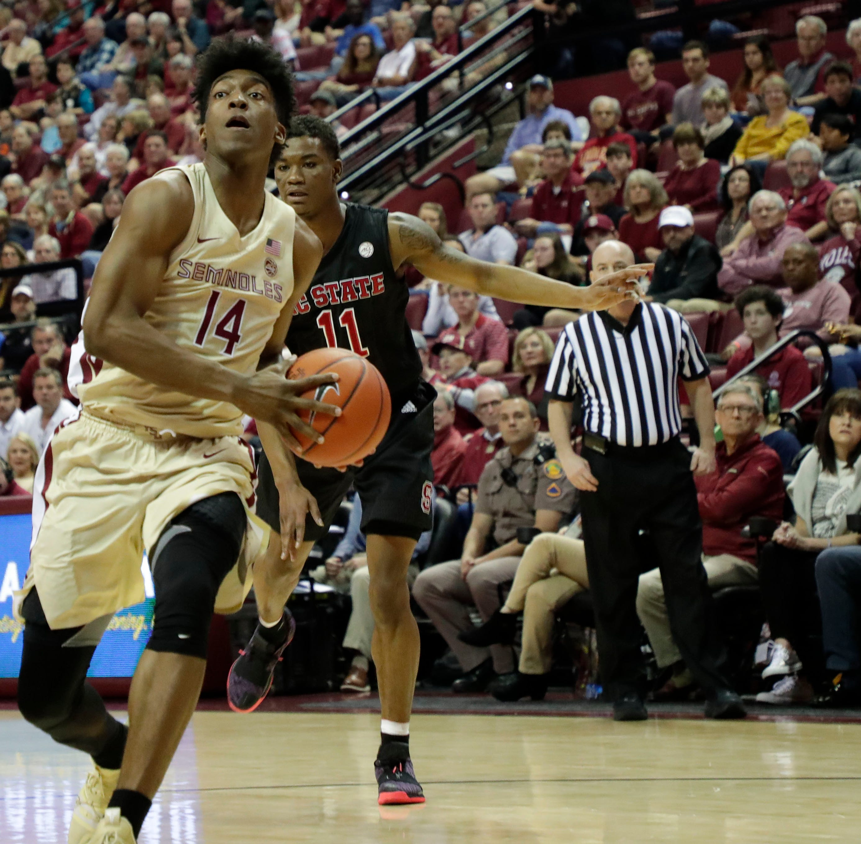 No. 17 Florida State outlasts North Carolina State for 11th ACC win