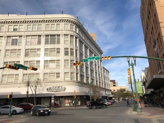 The Fallas Discount Store inside the 100-year-old Henry Trost-designed building at 301 E. San Antonio Ave., in Downtown El Paso, reopened March 1. It was closed five months after city officials determined the building was a fire hazard. The safety problems were corrected, a city official said.
