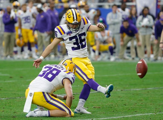 Although he wasn't drafted, Cole Tracy will get a chance to show he's got the leg to kick in the NFL.