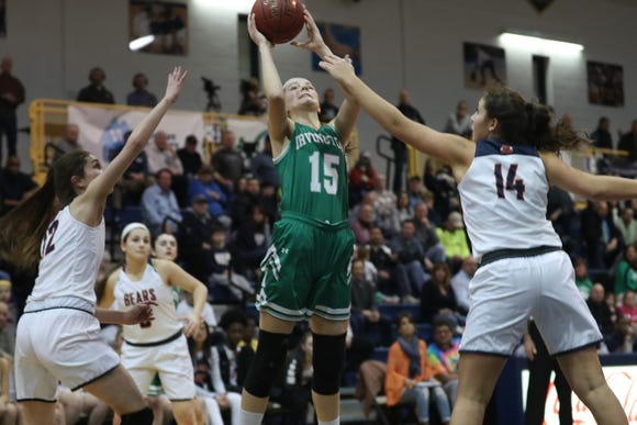 Irvington defeated Briarcliff 52-49 to win the girls Section 1 Class B championship game at Pace University in Pleasantville March 1, 2019.