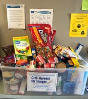 CHS Larsen Cooperative is accepting contributions from March 1 - 20 for its Harvest for Hunger food and fund drive.