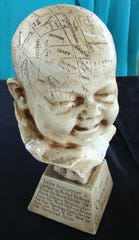 There are still those who believe in the theories of phrenology, but most who buy a phrenology head want it as a decoration.