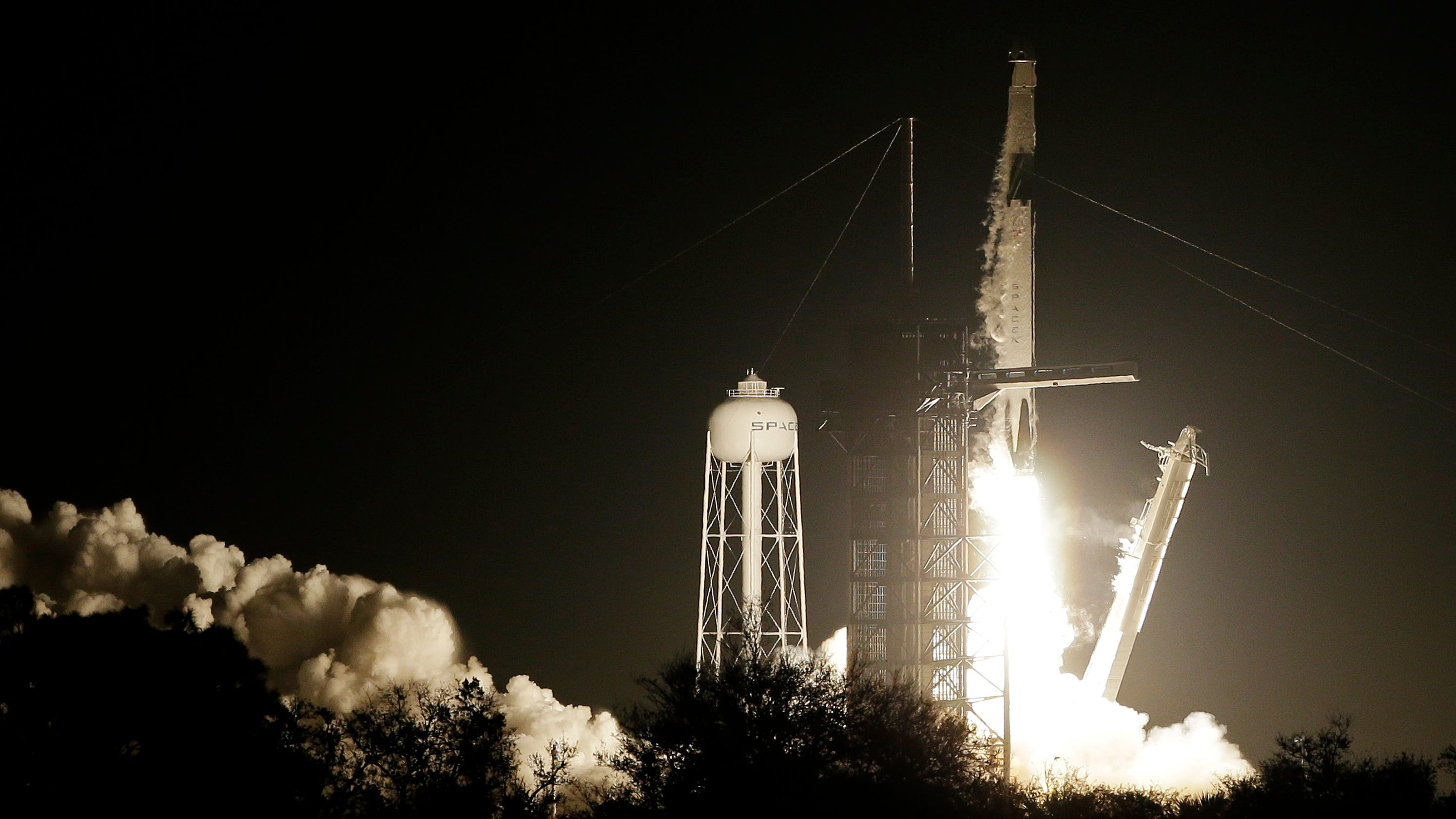 SpaceX Launches Historic Demo Mission From Kennedy Space