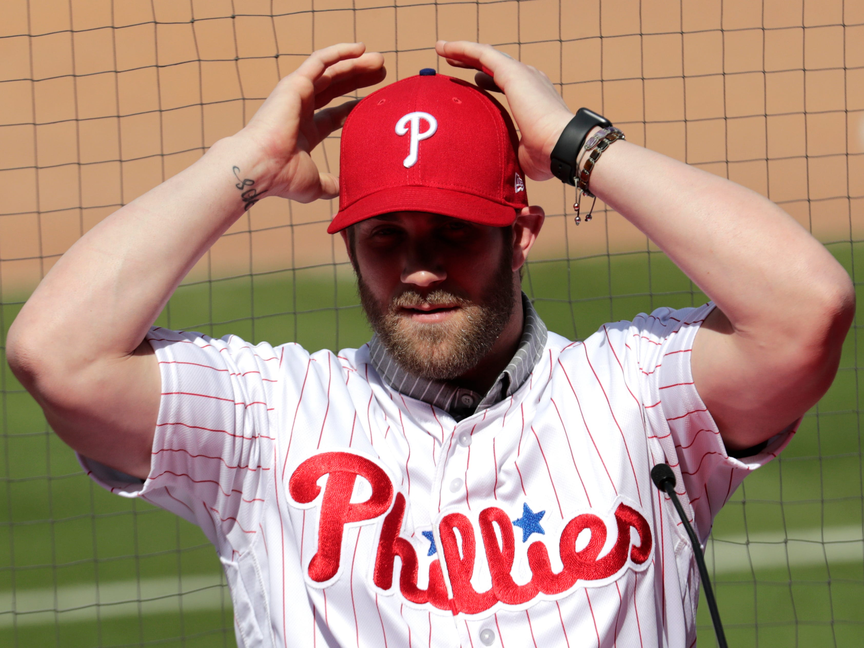 Myers: 13 years will be a long, long time for Bryce Harper and the Phillies