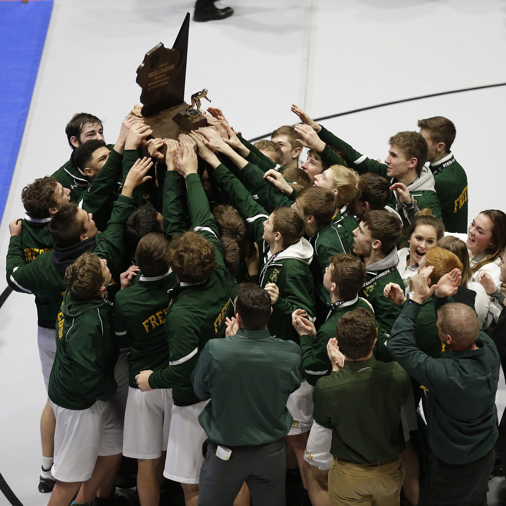 High school wrestling: Brownson helps Freedom secure Division 2 title