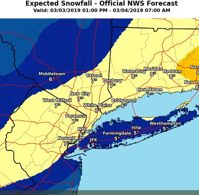 NJ weather: Middlesex, Somerset, Hunterdon, Union County updates
