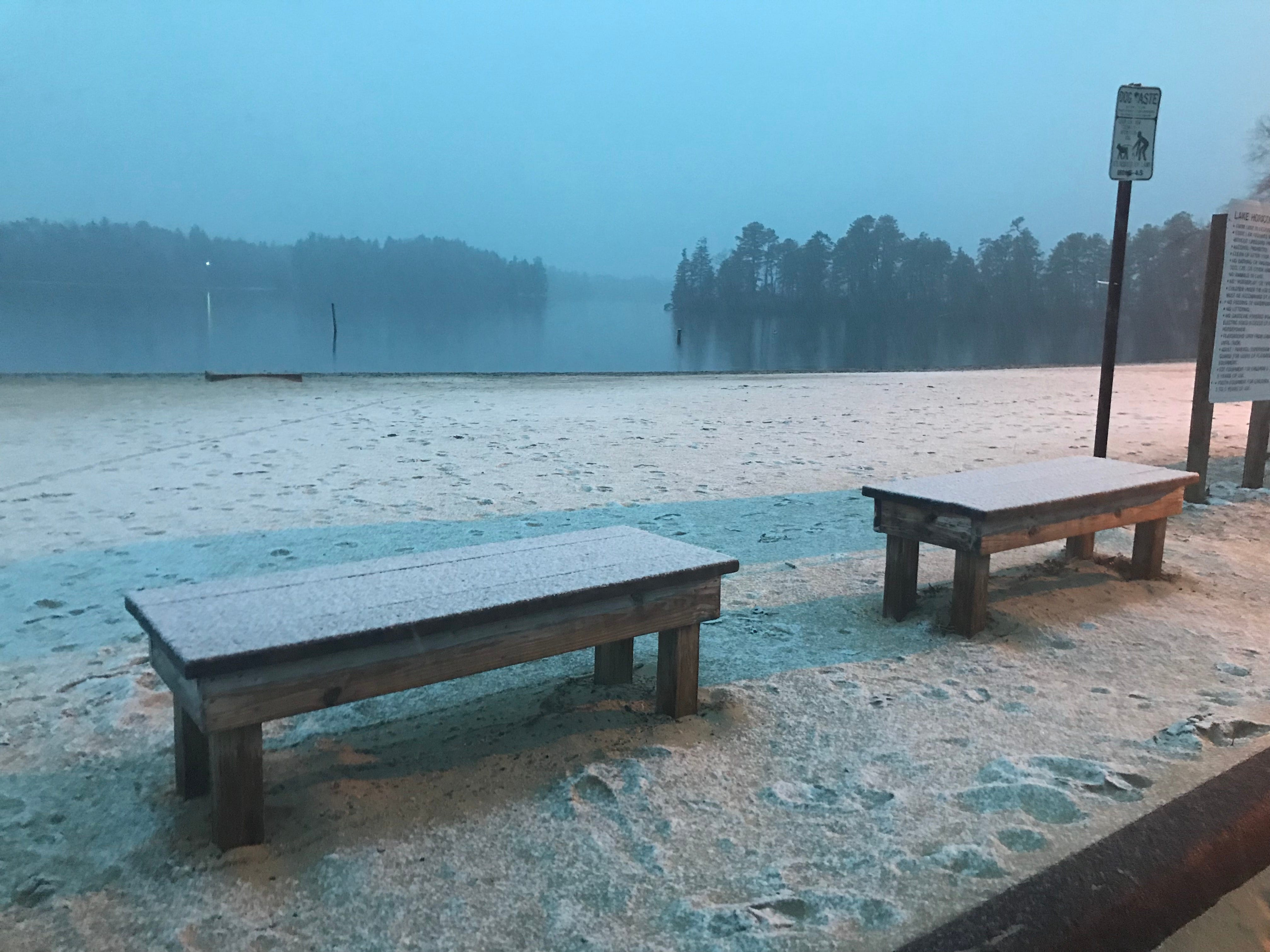 Lake Horicon in Lakehurst.