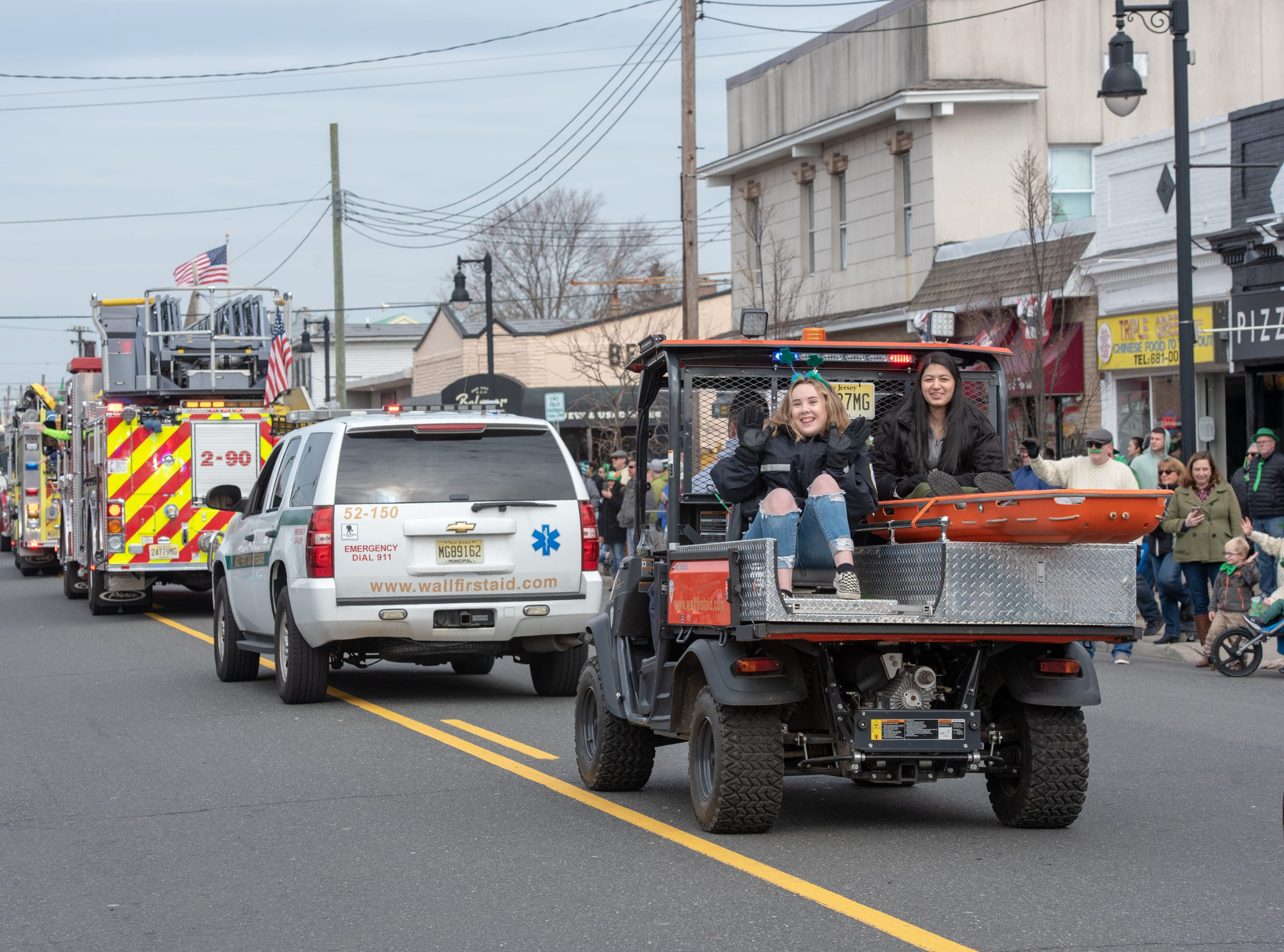 The 46th annual Belmar/Lake Como St. Patrick's Day Parade was held in Belmar on March 3, 2019.