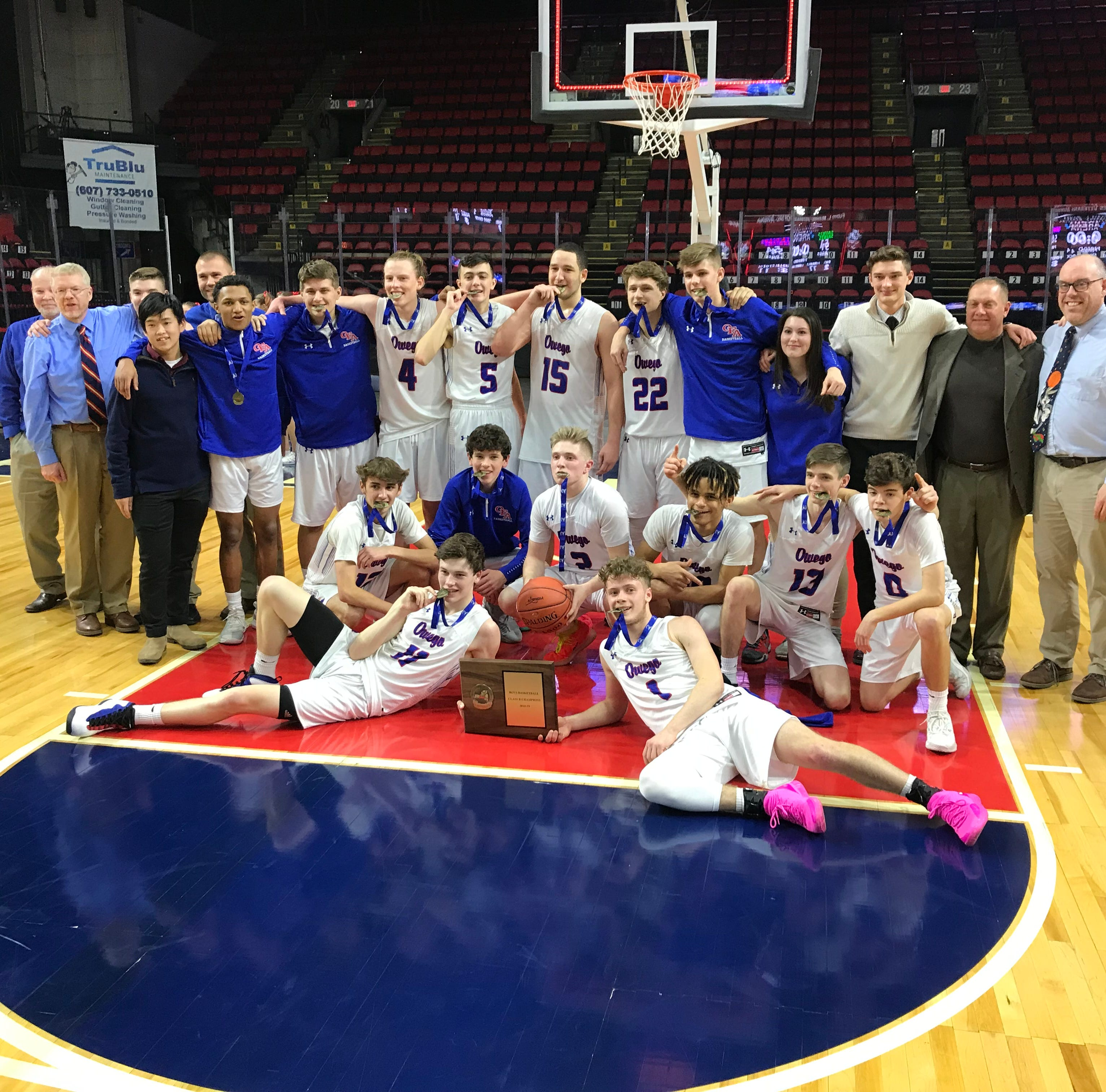 Boys Basketball: Owego takes down Seton CC for Class B title