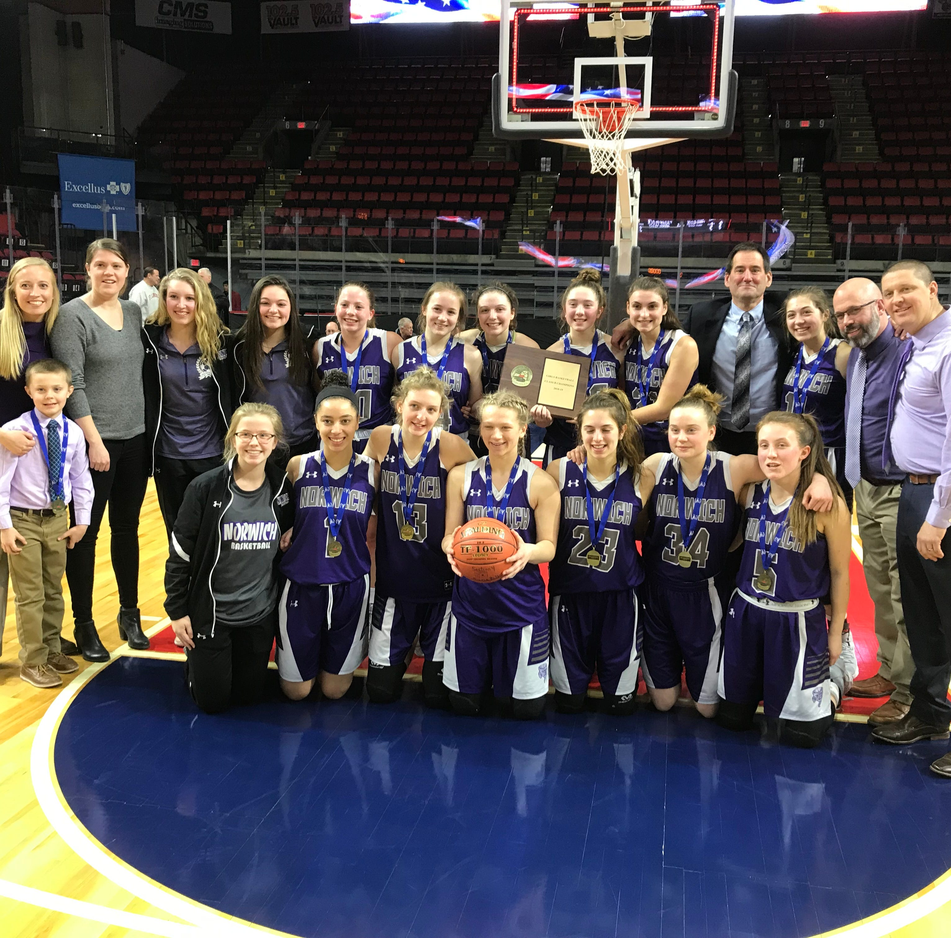 Girls Basketball: Norwich eases away from Owego