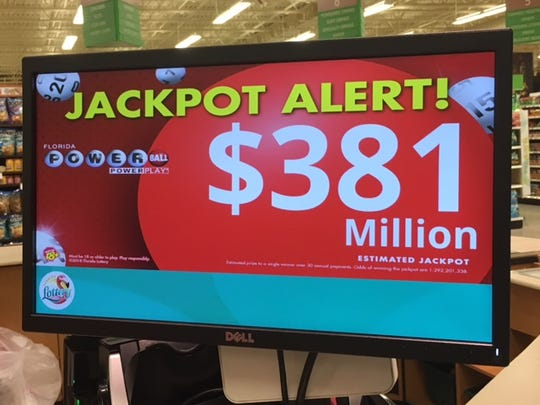 Big money on the line in the next Powerball drawing.