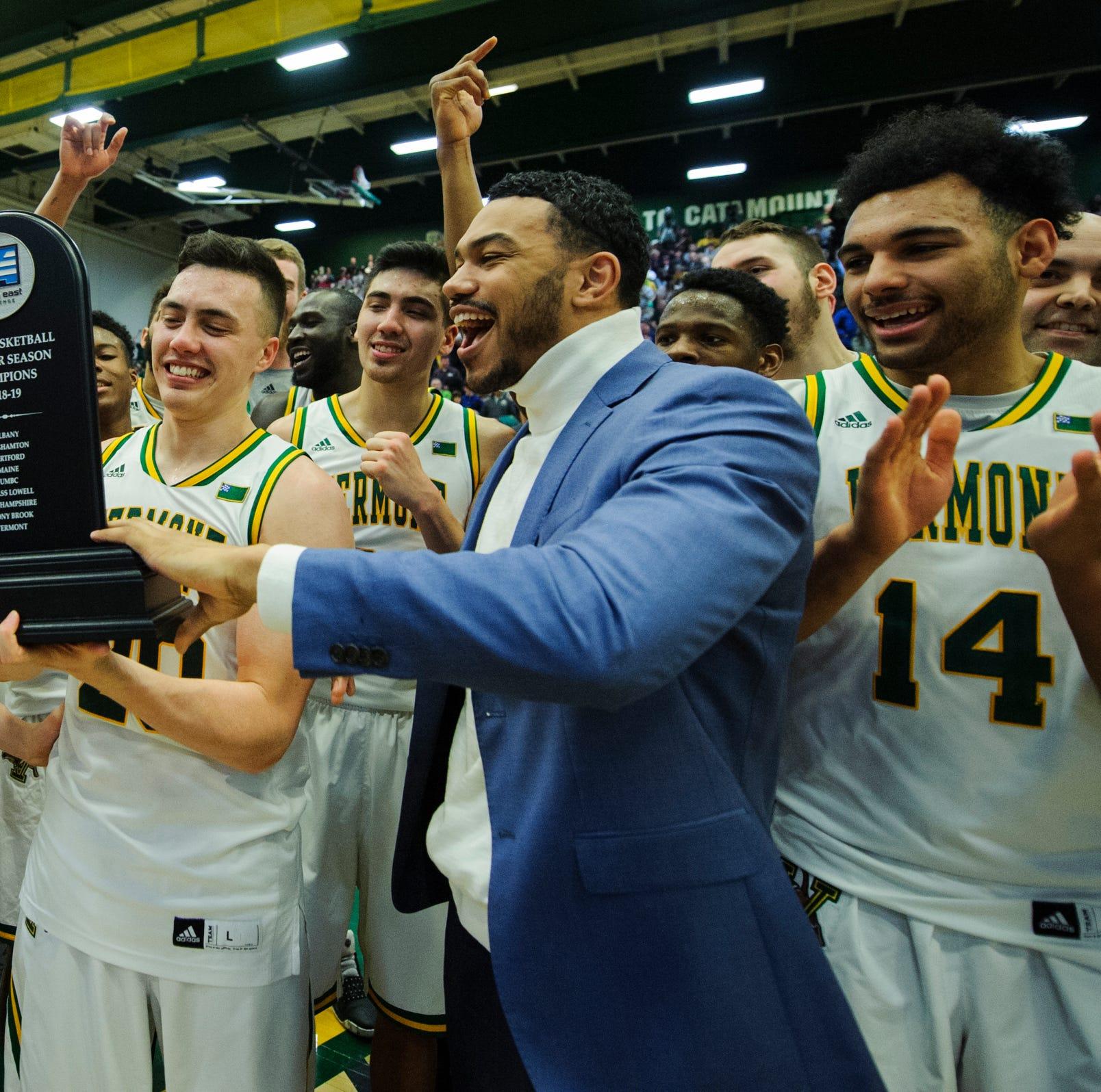 UVM men's basketball: Catamounts hang on to claim America East crown