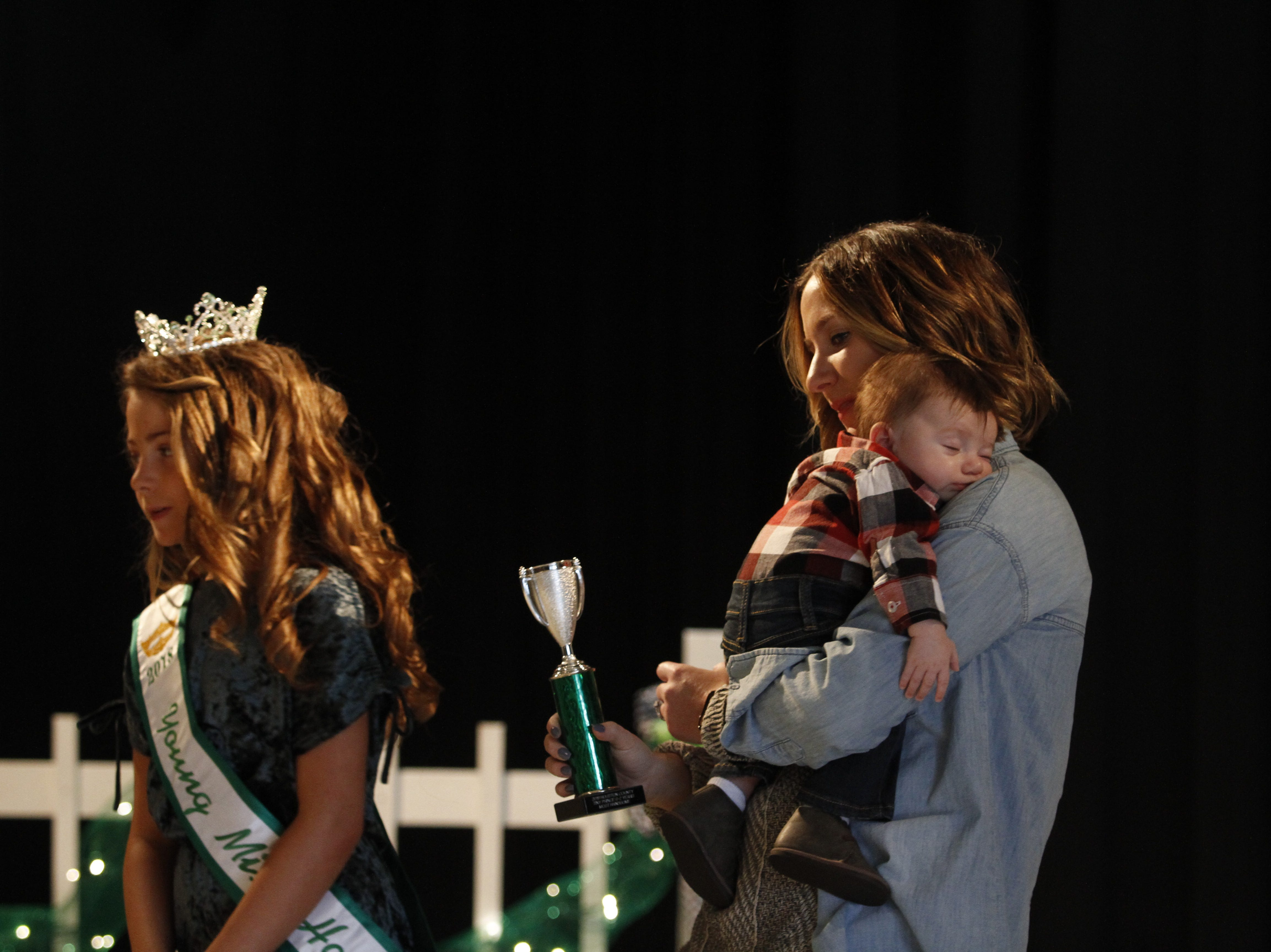 People gathered for the 2019 Houston County Tiny Prince, Tiny Princess Pageant at Houston County High School, on Saturday, March 2, 2019 in Erin, Tenn.