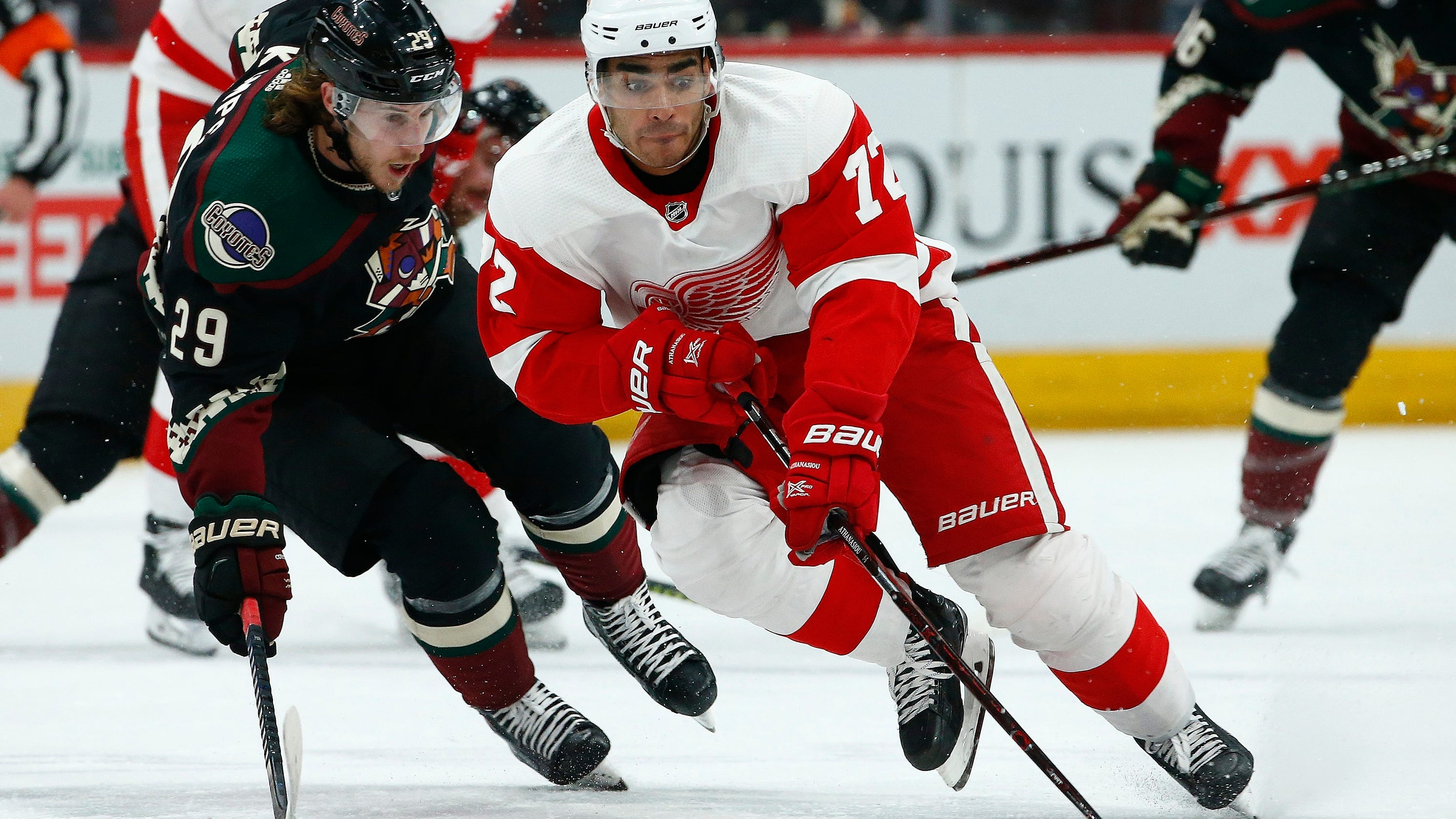 Arizona Coyotes 3, Detroit Red Wings 1: Photos