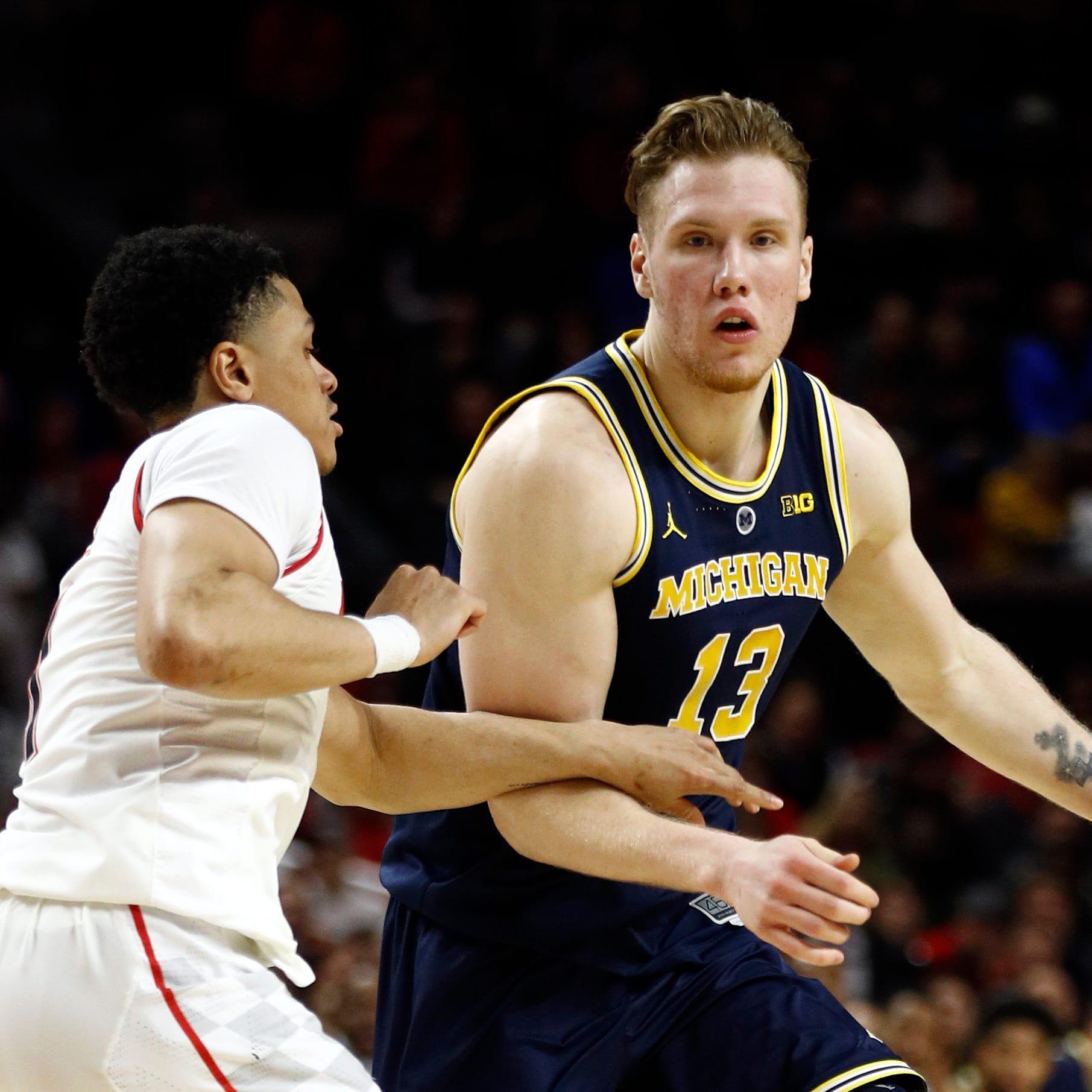 Michigan basketball earns best road win of season at Maryland, 69-62