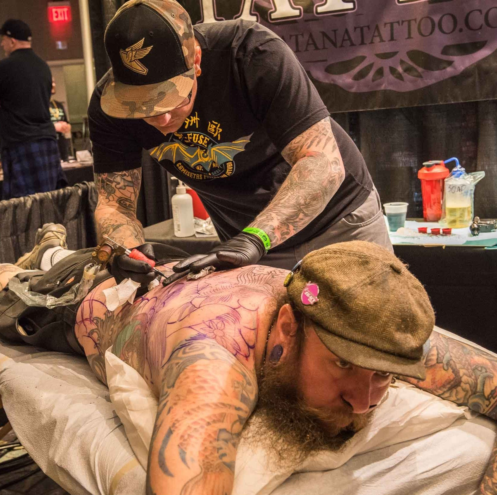 Detroit tattoo expo attracts artists and ink lovers from around the world