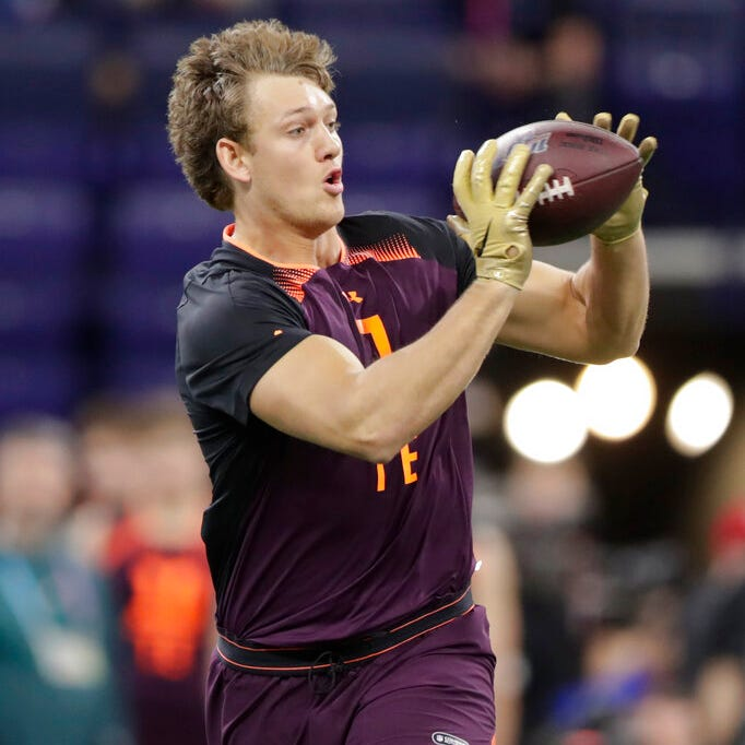Good news for Lions: Combine performances validate depth of tight end class