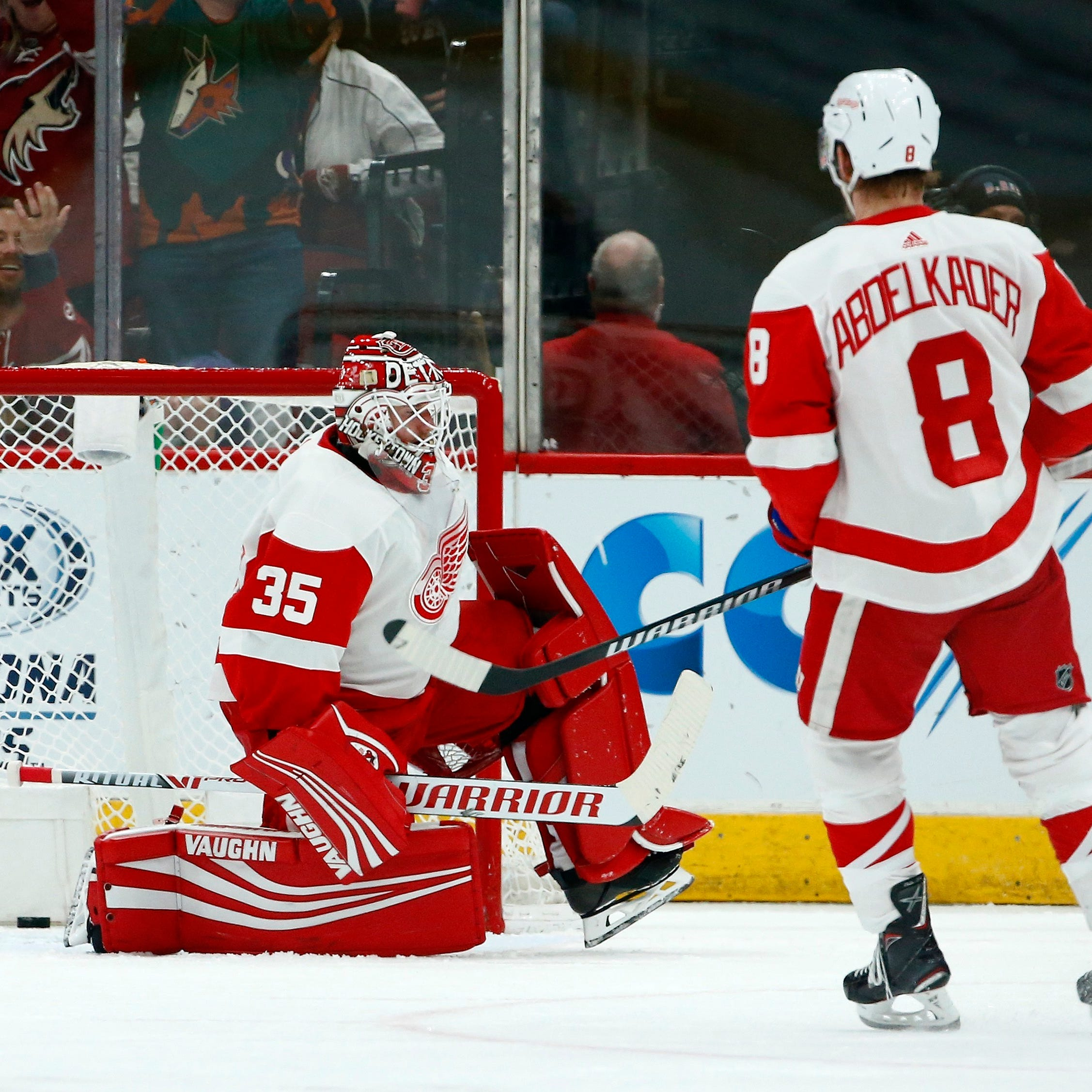 Red Wings' skid continues with loss to Coyotes