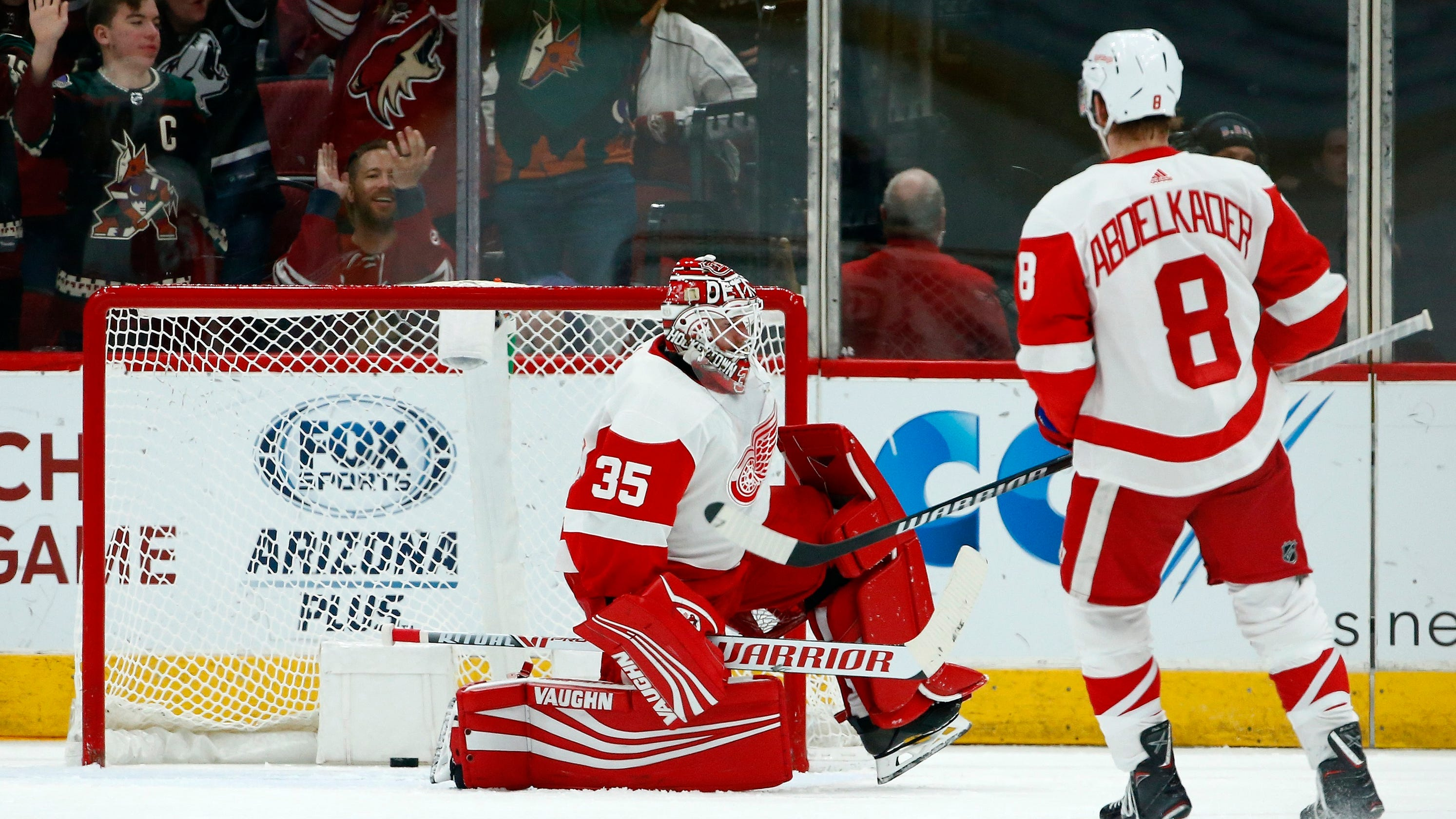 7bcda970438 Detroit Red Wings  skid continues with loss to Arizona Coyotes