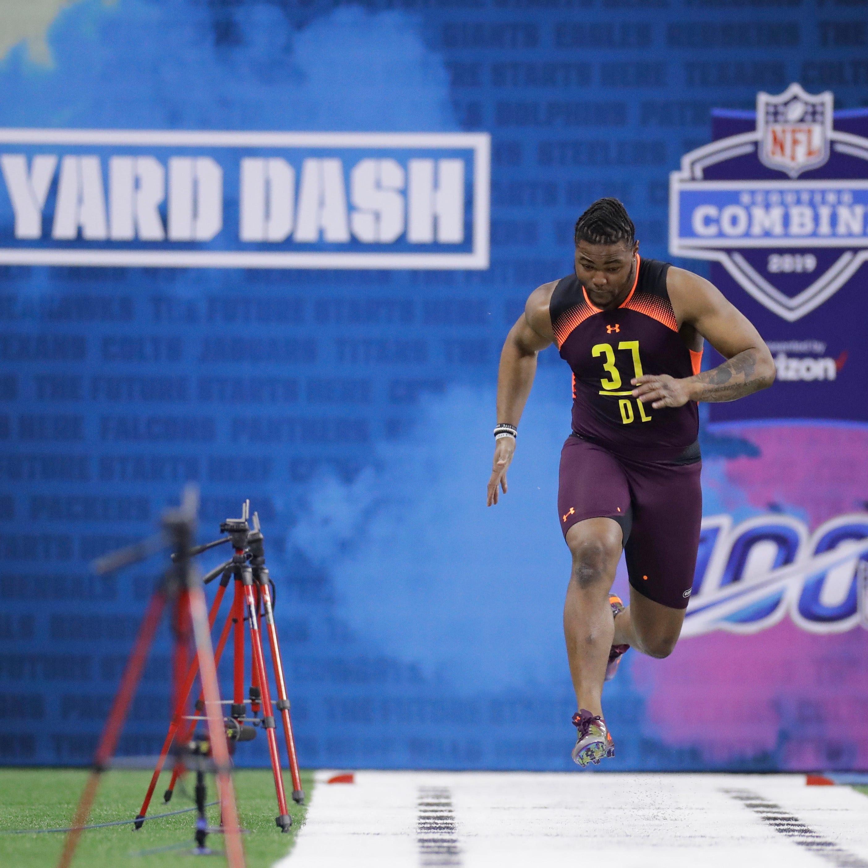 Montez Sweat, Rashan Gary display jaw-dropping speed at combine