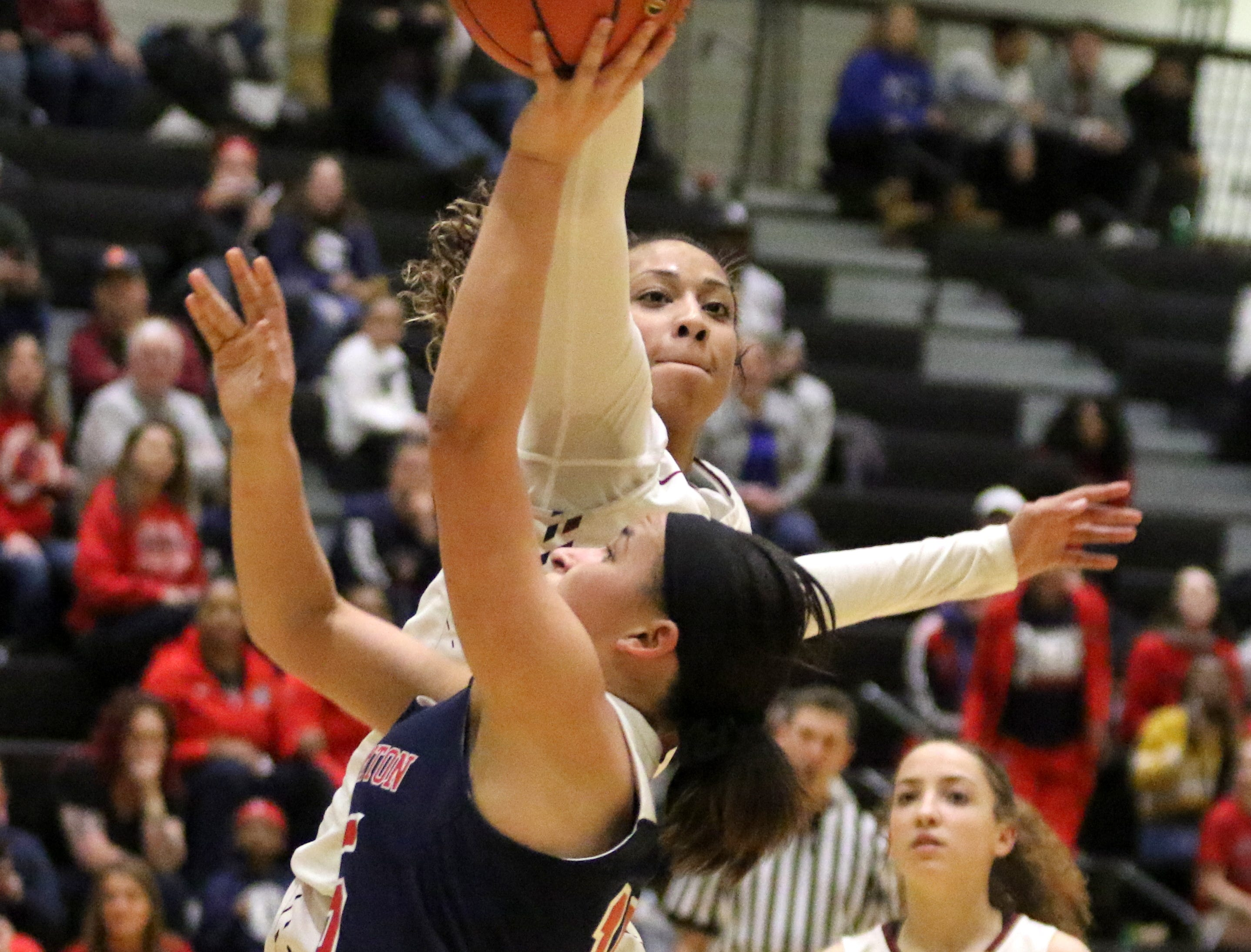 Photos from the Section 4 Class AA girls basketball final between Elmira and Binghamton on March 1, 2019 at Corning-Painted Post High School.
