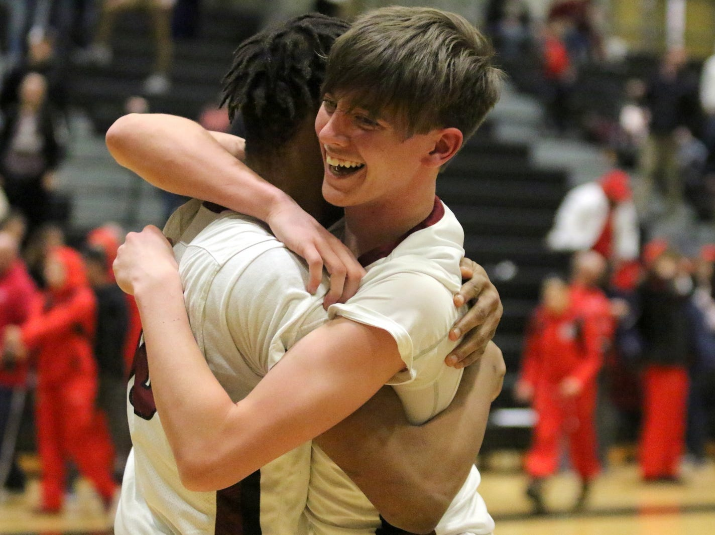 Photos from the Section 4 Class AA boys basketball final between Elmira and Binghamton on March 1, 2019 at Corning-Painted Post High School.