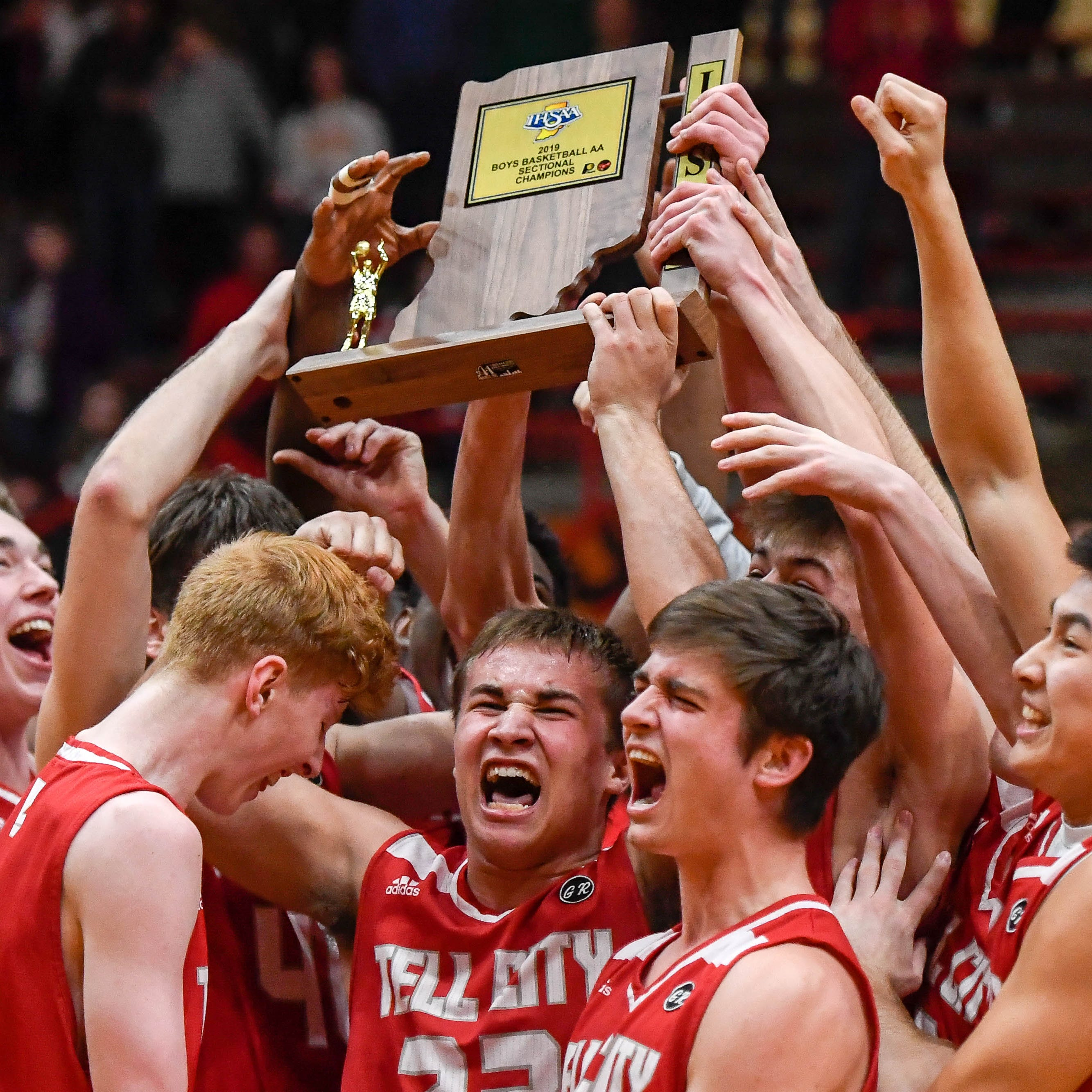 'Like a dream': Tell City basketball wins first sectional title since 1993