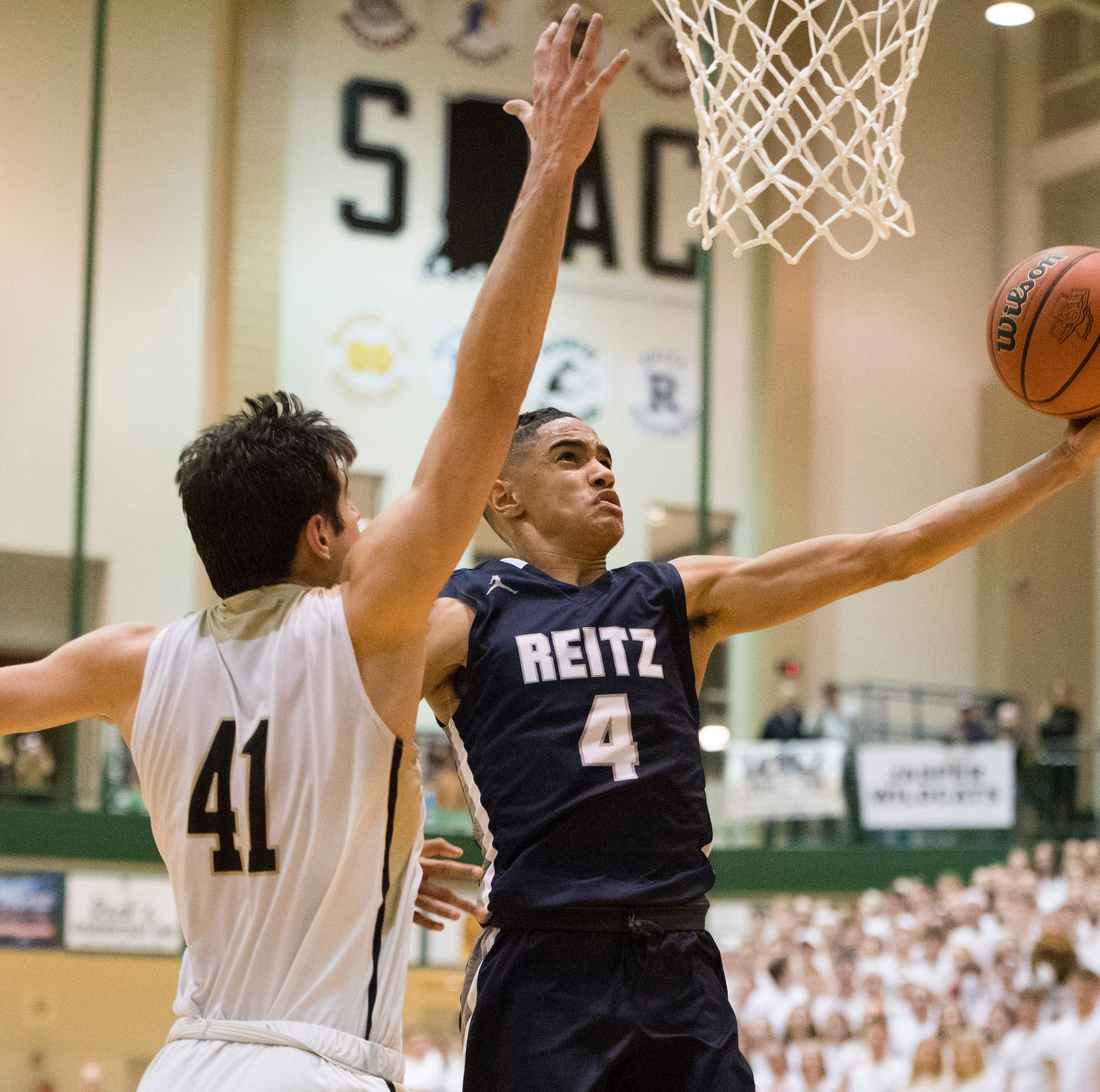 Reitz's Khristian Lander named Co-MVP of Underclassmen All-America game