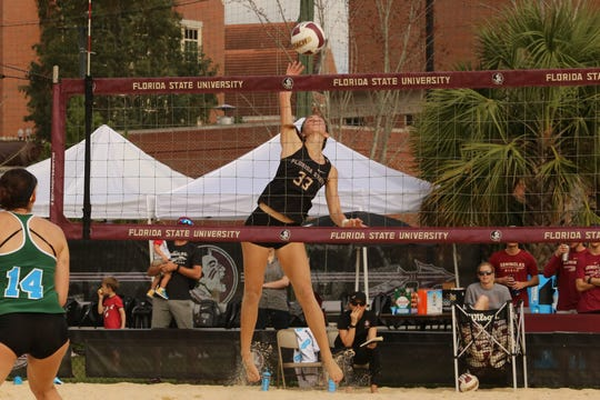 Florida State beach volleyball player Madison Fitzpatrick, her local Tallahasee roots provide a potent reminder of just how far she's come.