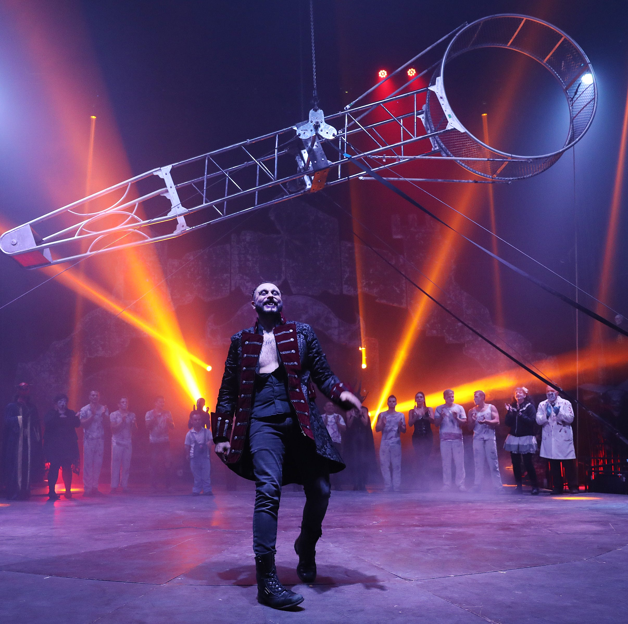 Paranormal Cirque brings a scare to the Big Top