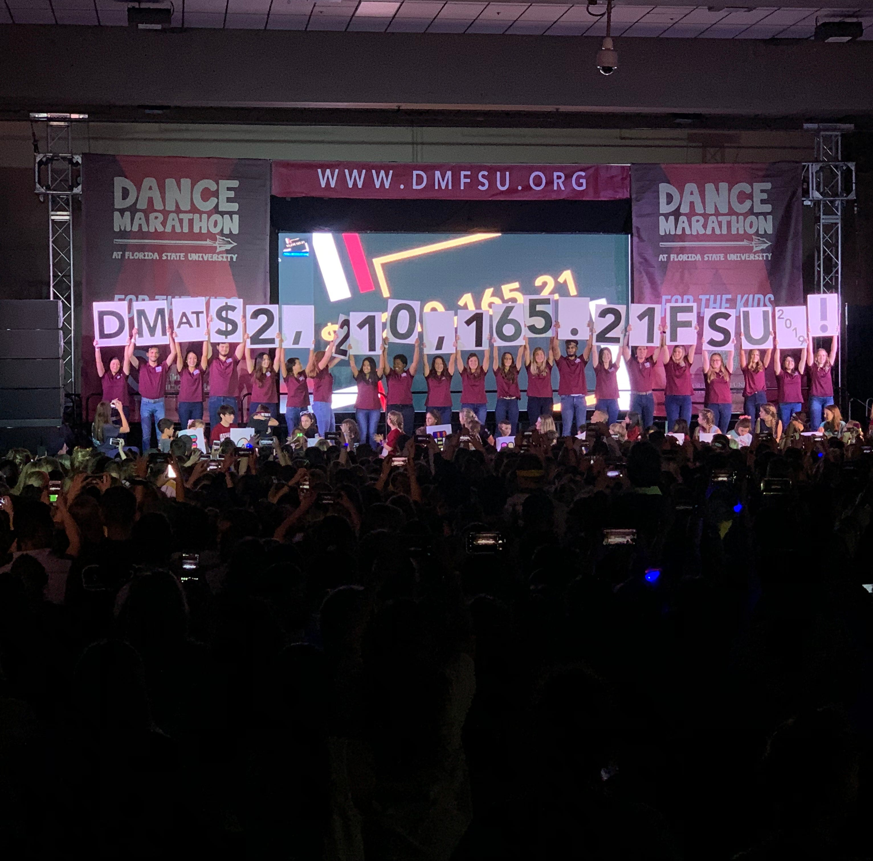 Dance Marathon at FSU raises $2,210,165.21 for Children's Miracle Network