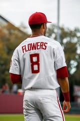 Entering his third collegiate season, FSU outfielder J.C. Flowers is off to an impressive start .