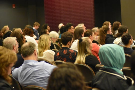 Attendees of the conference learned about the diverse ways in which poverty can be tackled.