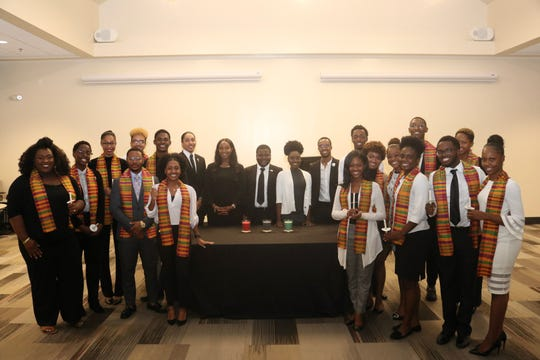 The Renegade Leadership Honor Society  initiated its first inaugural class on Tuesday, Feb. 26, at the Black Student Union.