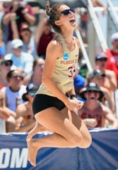 Florida State sophomore Madison Fitzpatrick gained plenty of exposure last year during the Seminoles run to the NCAA Beach Volleyball Championship in Gulf Shores, Alabama.
