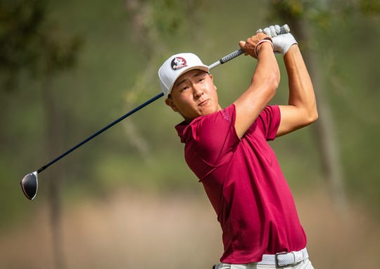 Florida State sophomore John Pak currently sits at 44 in Golfstat's individual rankings.