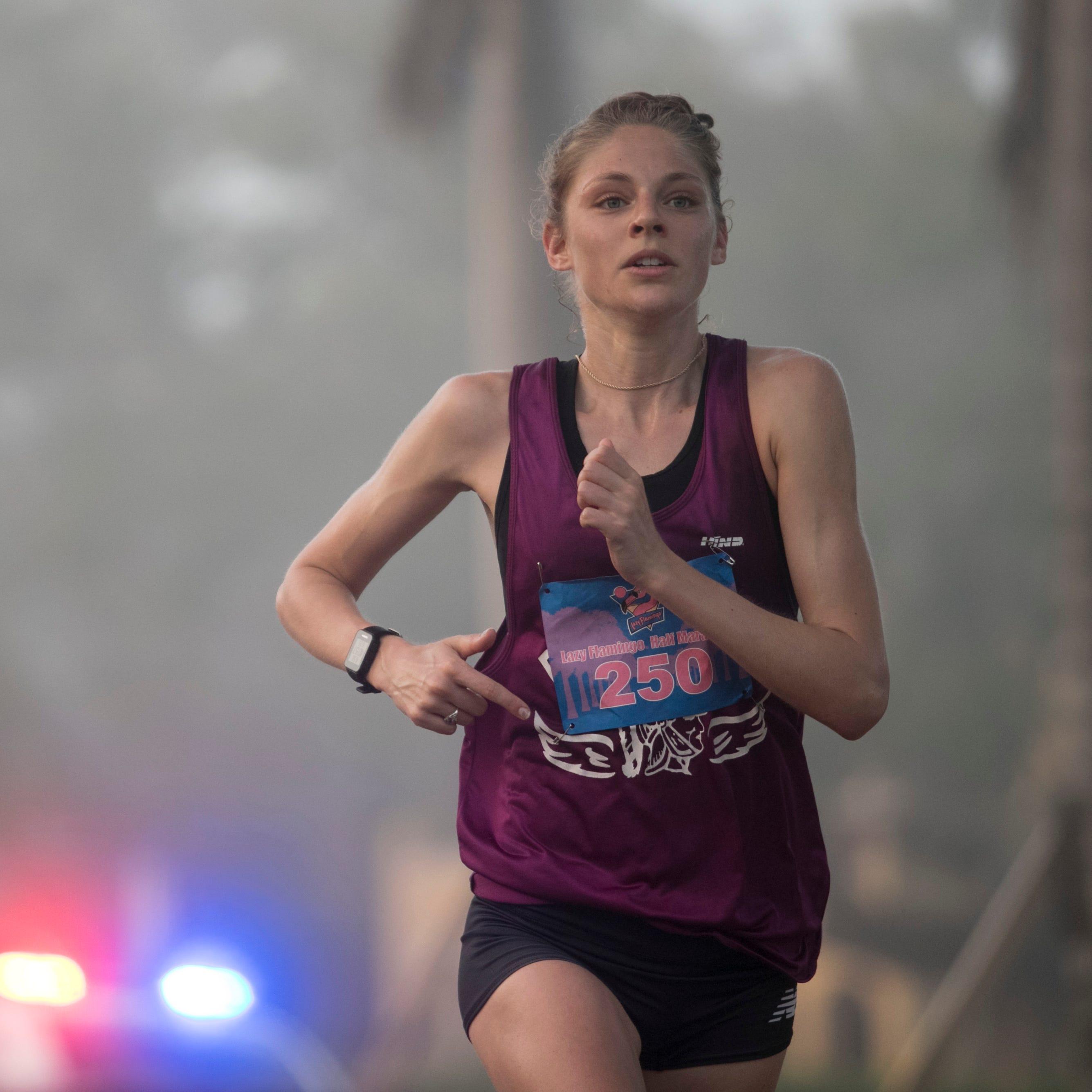 Philadelphia runners get hot, capture Lazy Flamingo Half Marathon