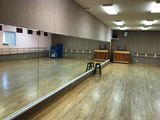 At Miss Linda's School of Dance in downtown Great Falls there are several practice rooms fitted with huge mirrors