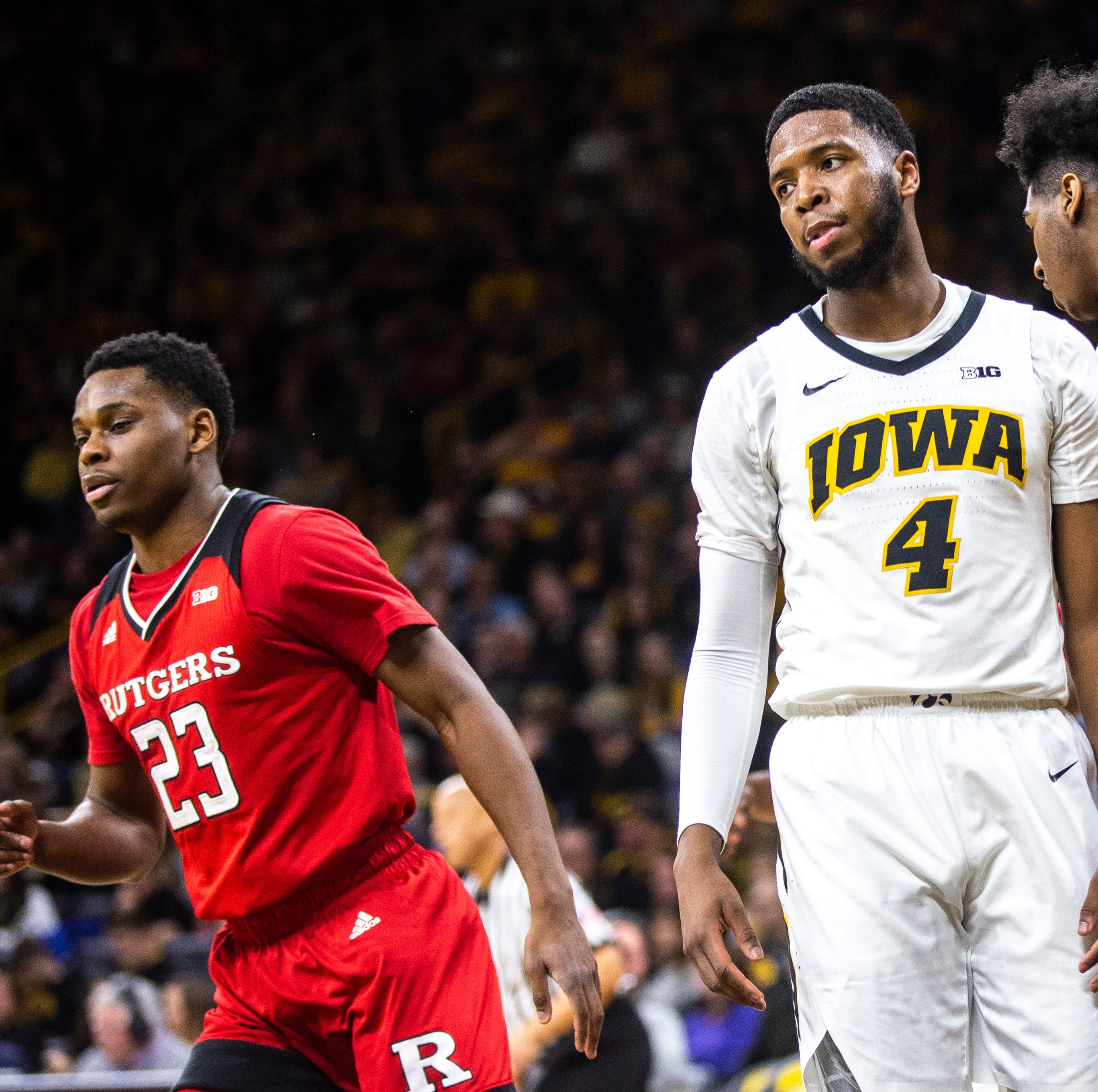 Home loss to Rutgers is costly for Iowa's NCAA Tournament seeding