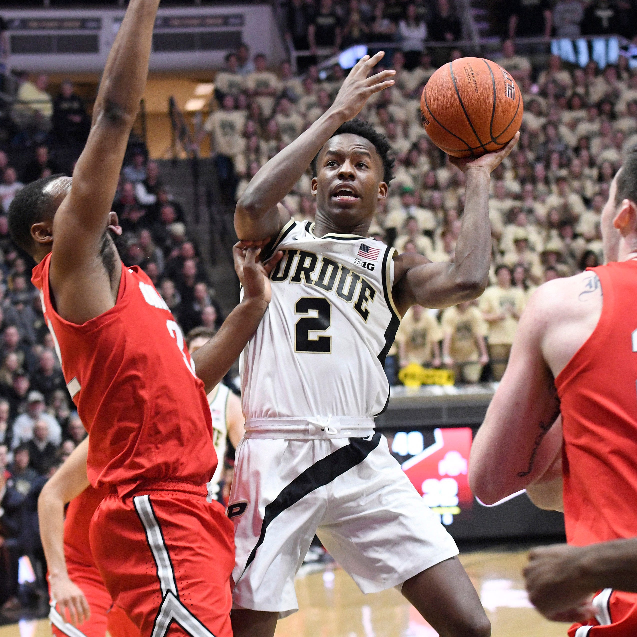 Purdue basketball freshmen eager for NCAA tournament debuts vs. Old Dominion