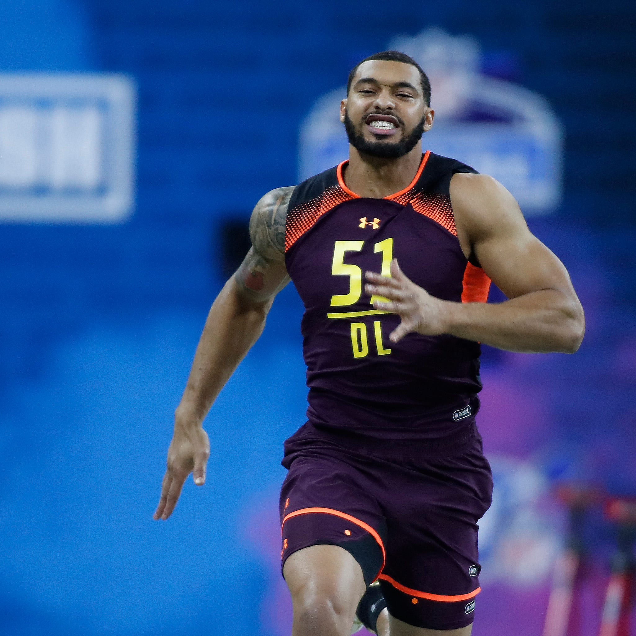 Colts owner Jim Irsay stunned by defensive lineman's speed at Combine