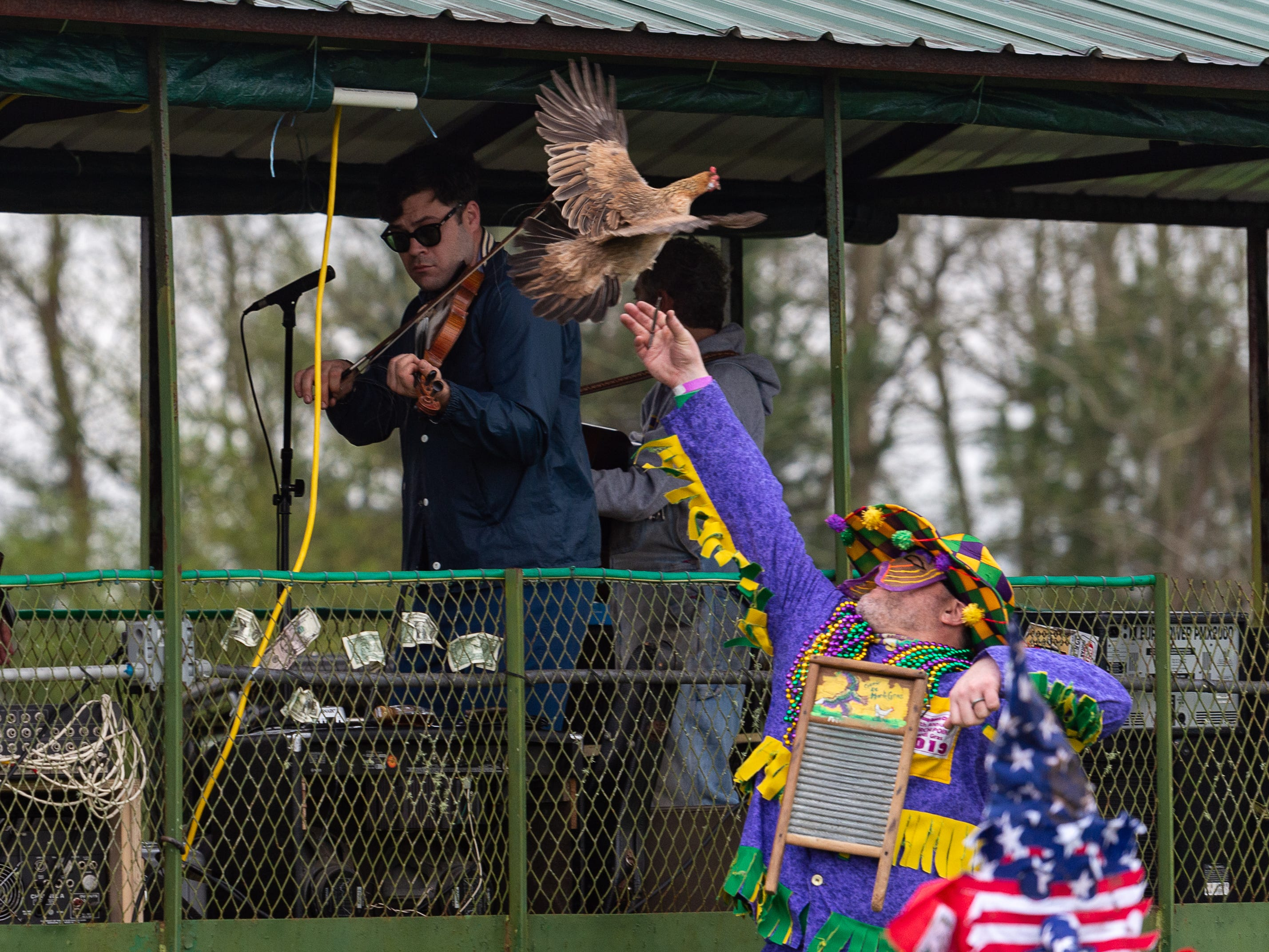 The 57th Courir de Mardi Gras in Church Point, LA.  Sunday, March 3, 2019.