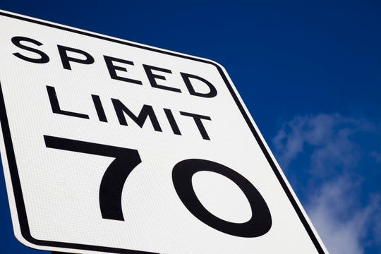 An Iowa bill would have increased the speed limit on interstate highways from 70 to 75 miles per hour.