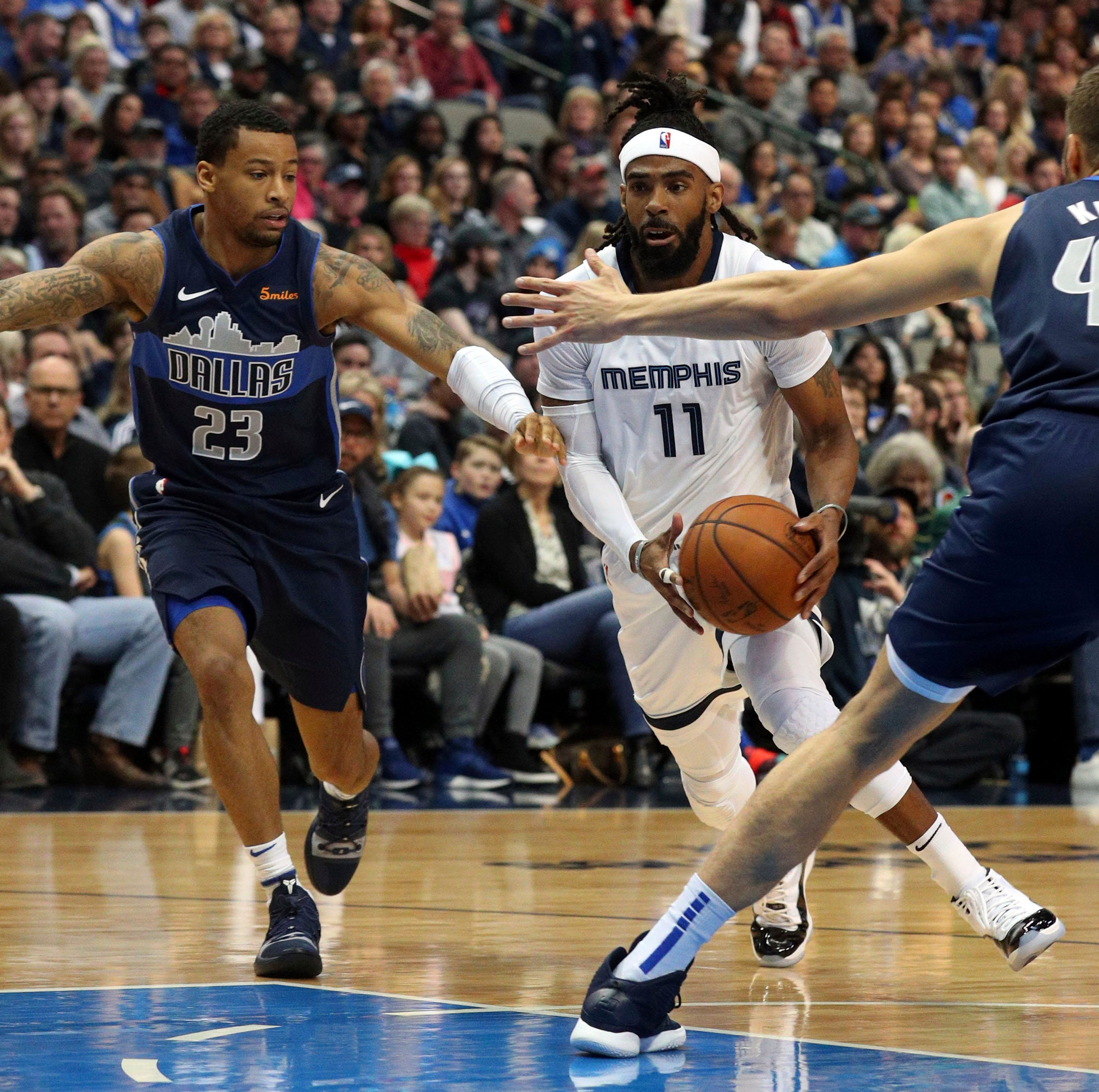 Memphis Grizzlies games vs Dallas Mavericks may have long-term implications