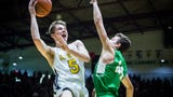 The top plays from Delta and New Castle in the sectional championship at New Castle Fieldhouse.